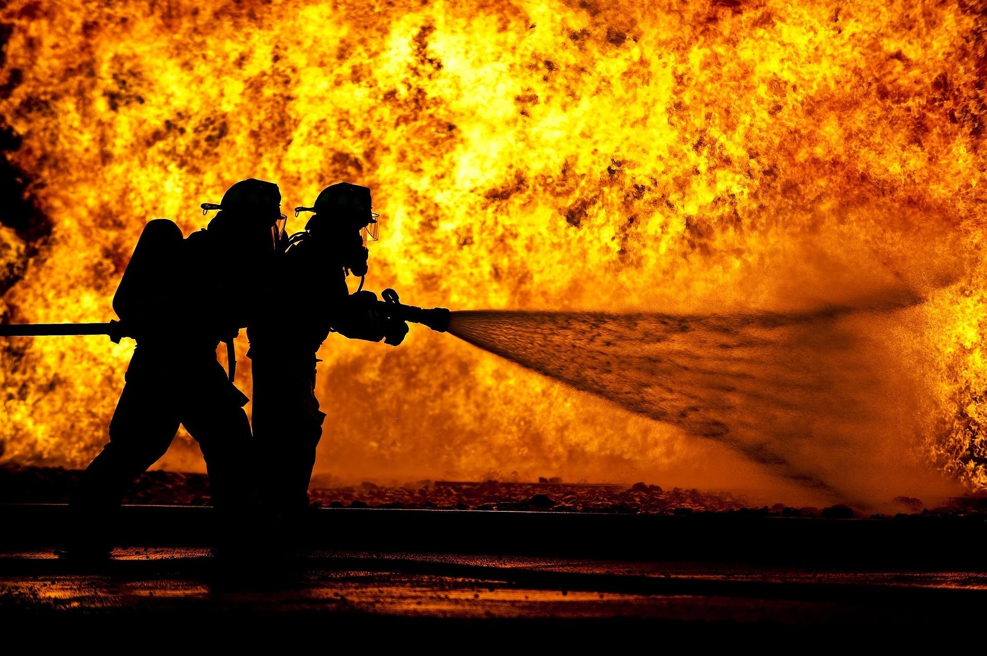 Symbolbild - Brand/Feuerbekämpfung